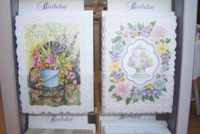 Unique embossed Greeting Cards.